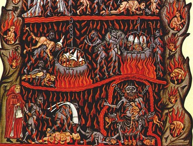 Inferno Hell Concept Art